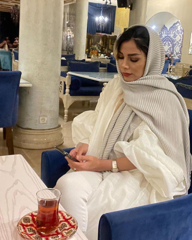 تبریک تولد همسر غفوریان به سبک مهران + عکس