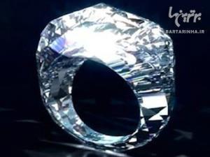 عکس/ اولین انگشتر تمام الماس جهان