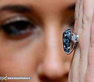 عکس/ انگشتر الماس 13.5 میلیون دلاری