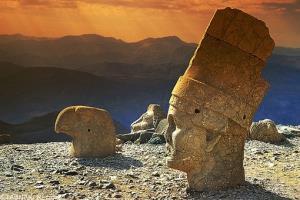 عکس/ کوه نمرود در ترکیه
