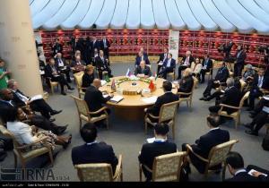 عکس/ نشست سران کشورهای عضو سازمان همکاری شانگهای