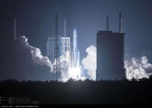 لحظه پرتاب قوی ترین راکت فضایی چین