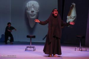 تصاویری از نمایش پالت در تماشاخانه ایرانشهر