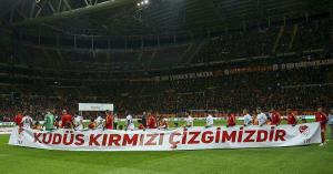 حمایت تیم «گالاتاسارای» ترکیه از قدس