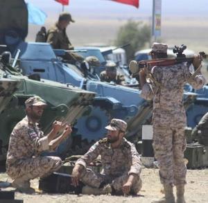 حضور ایران در مسابقات نظامی روسیه