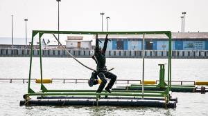 رکورد شکنی غواصان ارتش در مسابقات نظامی ۲۰۱۸