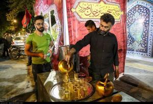 موکب های پذیرایی از عزاداران حسینی در بجنورد
