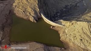 عکس/ قدیمیترین سد قوسی جهان در قم
