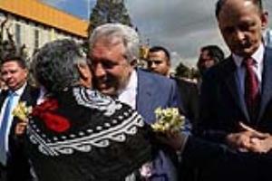 استقبال گرم از رئیس سازمان میراث فرهنگی در نمایشگاه گردشگری