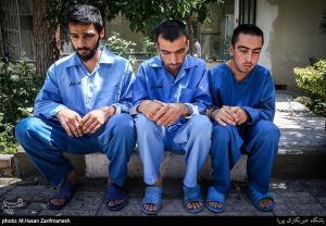 عکس/ دستگیری زورگیران خشن محله ری تهران