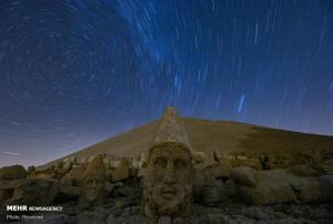سردیس های سنگی کوه نمرود ترکیه