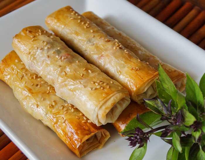 آخرین خبر | ۳ نوع غذا با خمیر یوفکا در فر و بدون فر