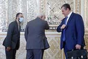 دیدار رئیس کمیته روابط خارجی دومای روسیه با ظریف