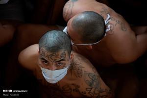 عکس/ زندان مخوف «السالوادور» در شرایط کرونایی