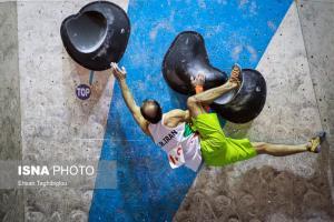 اردوی انتخابی مسابقات المپیک سنگنوردی در زنجان