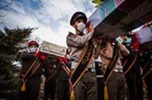 عکس/ استقبال از پیکر مطهر ۴ شهید گمنام دفاع مقدس