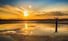 دریاچه مُخَرگه شهربابک، بزرگترین آینه طبیعی ایران