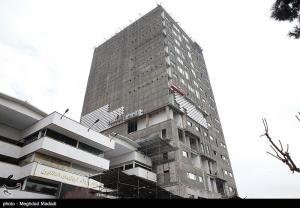 عکس/ ساختمان جدید پلاسکو در حال ساخت