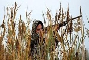 دستگیری شکارچی متخلف سابقه دار در پارک ملی قطرویه
