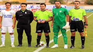 قضاوت داوران شیرازی در لیگ دسته یک فوتبال