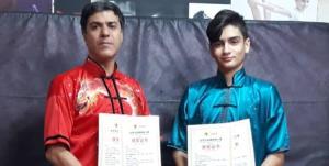 ۲ مدال جهانی در کارنامه ووشوکاران قم