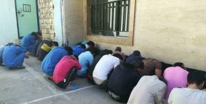 جمع آوری ۱۶ معتاد متجاهر و ۷ خرده فروش مواد مخدر در سیبوسوران