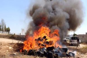 امحای یک تن مواد مخدر در استان قزوین