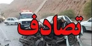 تصادف در اتوبان ساوه-تهران یک کشته بر جای گذاشت