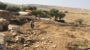 اجرای حکم قلع و قمع در اراضی ملی خرامه