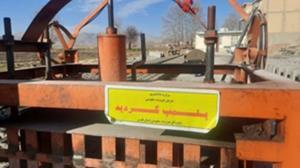 پلمپ ۵ کارگاه غیرمجاز بلوک زنی توسط اجرای احکام تعزیرات حکومتی شیراز