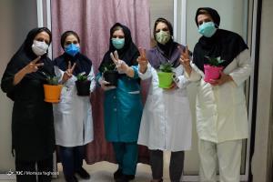 تقدیر از کادر درمان بیمارستان رازی اهواز