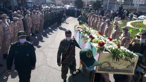 آغاز تشییع شهدای گمنام در استان مرکزی