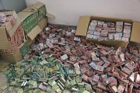 کشف بیش از ۲۰ هزار عدد مواد محترقه قاچاق در زاهدان