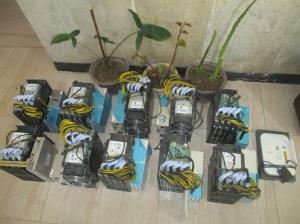 ۲۸ دستگاه غیرمجاز استخراج ارز در لرستان کشف شد