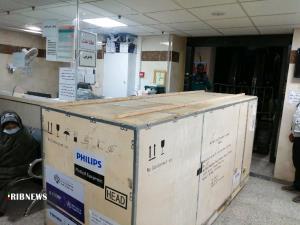 تجهیز بیمارستان بردسیر به سی تی اسکن