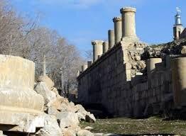 توقف ۲ دههای کاوش باستانشناسی در معبد آناهیتا