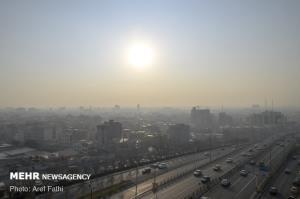 هوای البرز در وضعیت ناسالم برای گروههای حساس