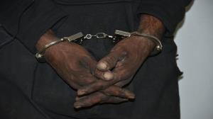 سارقی که حین سرقت دستگیر شد