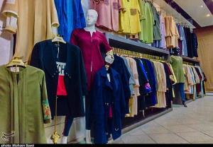 جولان کالای قاچاق در بازار پوشاک شهرکرد