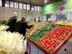 عکس/ اعلام قیمت میوه و ترهبار در بازارهای کوثر