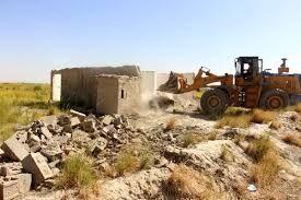 ۱۰۴ هکتار از اراضی کشاورزی در ساوجبلاغ آزادسازی شد