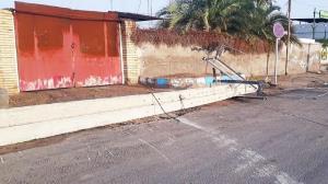 خسارت ۶۰۰ میلیونی طوفان به شبکه توزیع برق زابل