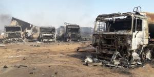 پای درد دل کامیونداران ایرانی واقعه «اسلام قلعه»