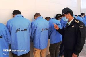 ۱۶ سارق و مالخر حرفهای در شهرستان بویراحمد دستگیر شدند