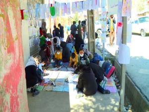 آسمان؛ سقف کلاس دانشآموزان زلزلهزده سیسخت