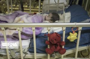 افزایش ۲ برابری بستری کودکان کرونایی در بیمارستان ابوذر اهواز