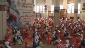 توزیع ۲۰۰۰ بسته کمک معیشتی بین خانواده زندانیان در خوی