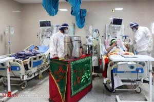 موکب های سیار به مناسبت جشن نیمه شعبان در «بیمارستان گلستان» اهواز