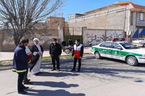 اعمال محدودیتهای وضعیت قرمز در سطح شهرستان بوئین زهرا