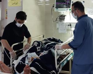 سوختگی ۴ کارگر بر اثر انفجار کوره مواد مذاب در قزوین